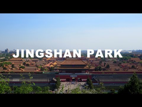 THE HIGHEST POINT IN BEIJING - VISITING JINGSHAN PARK 🇨🇳