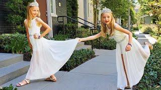 Videos con aderezo de princesa para niños