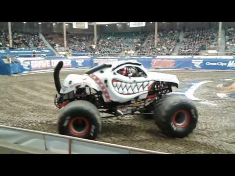 Albuquerque Monster Jam 2017 Tingley Colesium: Monster Mutt The Dalmation!