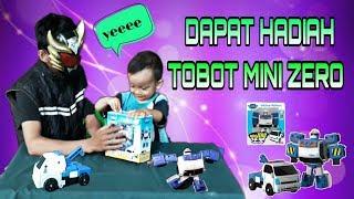 WOW !!! Dapat Hadiah Tobot MINI ZERO Transformers Cars Dari Bima X