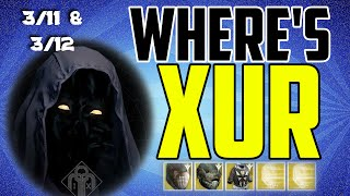 where s xur xurs location today march 13 march 12