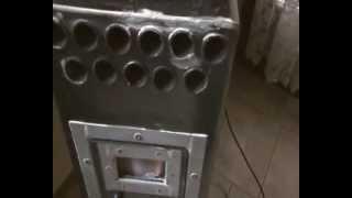 Repeat youtube video stufa pirolisi gassificazione : 2° combustione e spegnimento