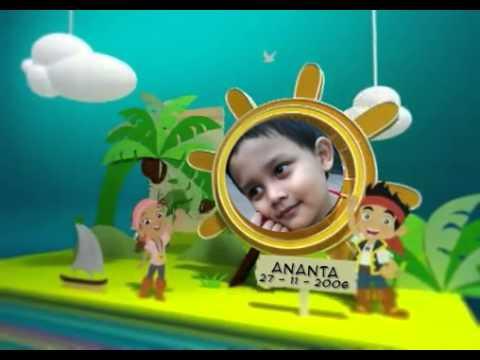 Ananta   Birthday Book   Disney Junior Asia