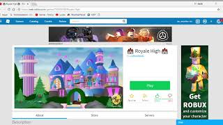 🏰 Royale High 🏰 Roblox med mario yt