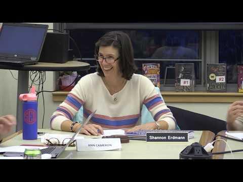 Manchester-Essex Regional School Committee Meeting - October 2, 2018
