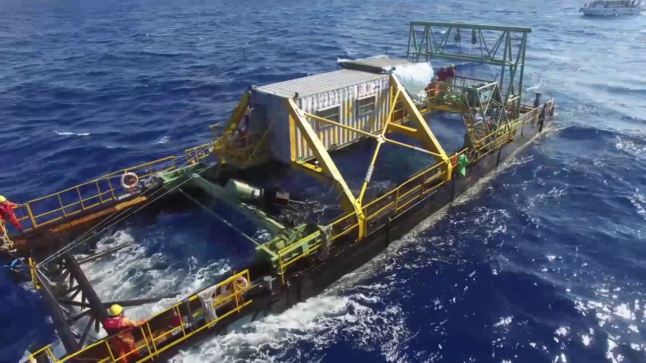 萬機鋼鐵黑潮發電專案_科技部能源國家型計畫(English Ver.3)Ocean Current Energy System_WanChi - YouTube