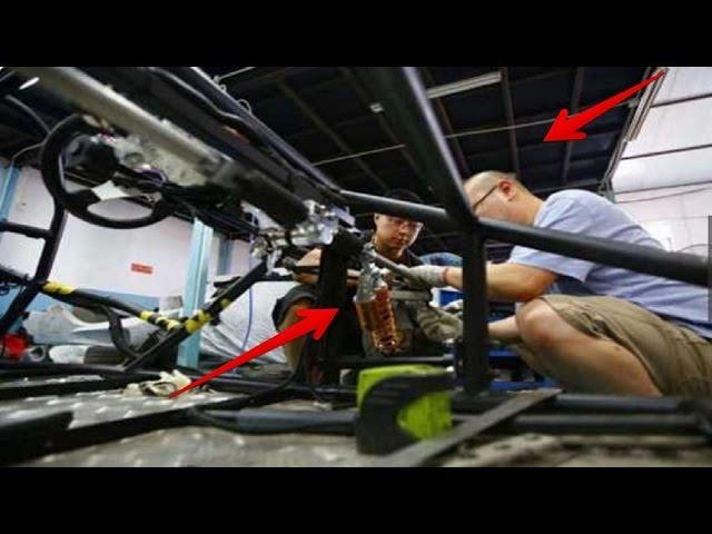 Di Hina Miskin Dan Gila, 2 Pria ini Akhirnya Membuat Mobil Sport Sendiri.... WOW KEREN!!