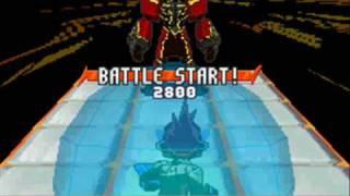 Megaman Starforce 3: Red Joker: Dread Joker R/Acid Ace R Double Battle