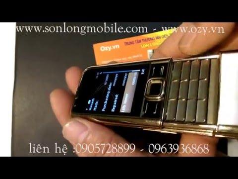 Nokia 8800 gold arte nguyên bản hiếm vừa cập cảng tại sonlongmobile