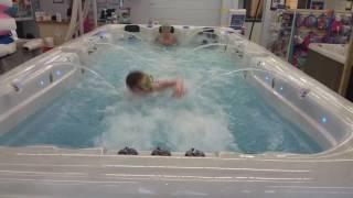 Garden Leisure Swim Spa Colossus 17' at Nelsons HTR in Janesville