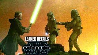 Star Wars Episode 9 Luke's Action Scene! Leaked Details Revealed (Star Wars News)