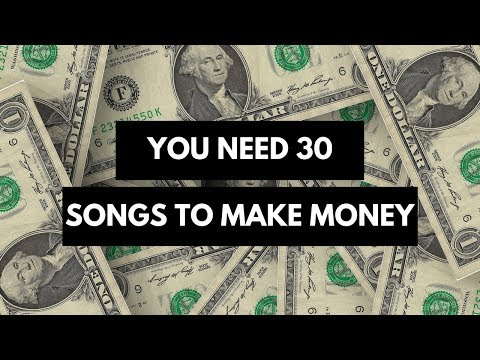 How many songs do I need for music licensing