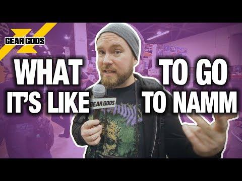 What It's Like To Go To NAMM: Mini-Vlog NAMM 2019 | GEAR GODS