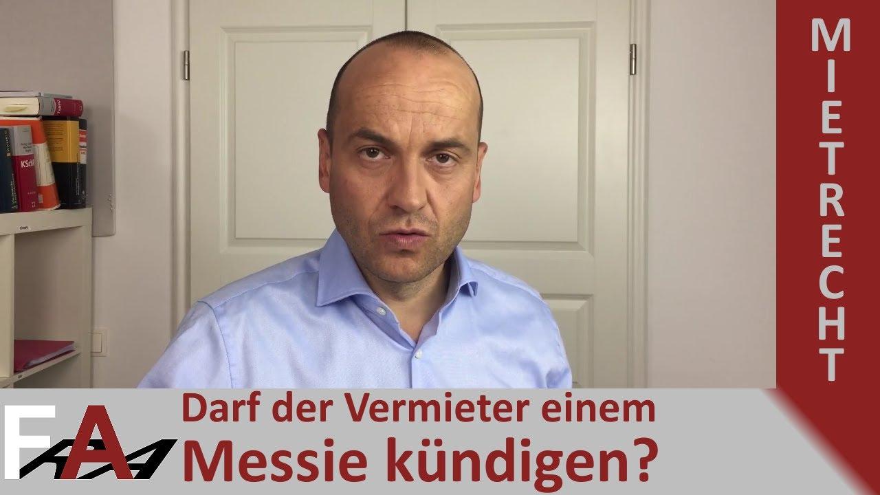 Messie Darf Der Vermieter Kundigen I Fachanwalt Alexander