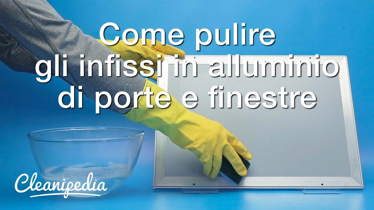 Come Pulire L Alluminio : Come pulire infissi in alluminio molto sporchi colori