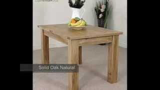 Hampton Solid Oak Extending Dining Table