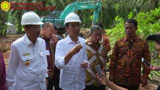 Download Video Presiden Republik Indonesia bersama Menteri Pertanian Melaunching Replanting Sawit MP3 3GP MP4