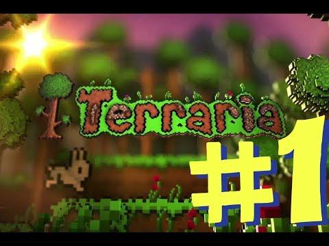 Let's Play: Terraria Xbox 360 Version! Ep. 1