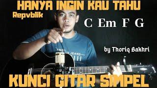Download lagu Kunci gitar simpel by Thoriq Bakhri tutorial gitar untuk pemula MP3