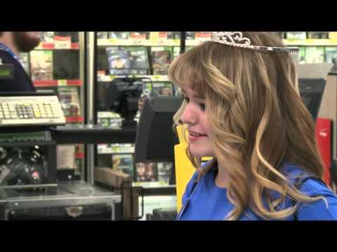Make-A-Wish Grants Shopping Spree