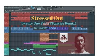 Video Stressed Out - Twenty One Pilots (Tomsize Remix) - Remake + FLP download MP3, 3GP, MP4, WEBM, AVI, FLV Juni 2018