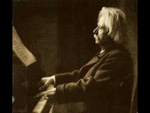 Grieg plays Remembrances (1903)