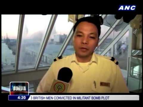 Pinoy cruise ship crew happy to return to sea