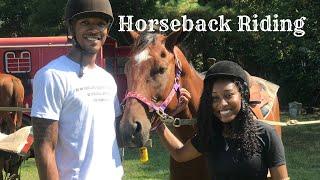 HORSEBACK RIDING FOR TRACY