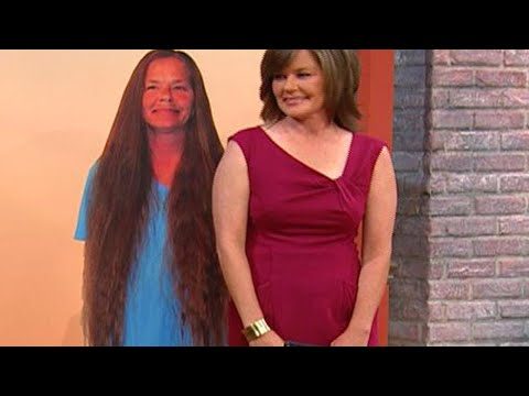 Woman Gets Dramatic Haircut After 30 Years | Rachael Ray Show