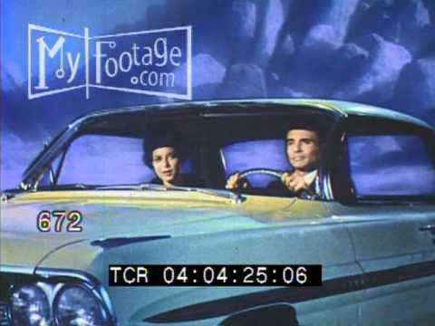 Stock Footage - A Touch of Magic - 1961 General Motors Promotional Film