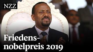 Friedensnobelpreis 2019 geht an äthiopischen Präsidenten