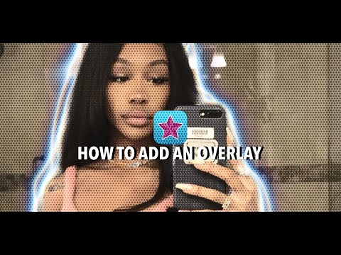 HOW TO ADD A OVERLAY BEHIND A PERSON ON VIDEO STAR ⭐️ || TUTORIAL 💕.