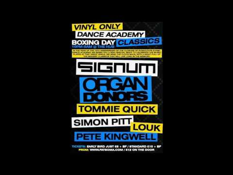 Simon Pitt Live @The Hub, Plymouth UK  - Dance Academy Reunion, Vinyl Only Event. 26.12.2016