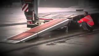new FAYMONVILLE MAX Trailer Телескоп 6 м low loader semi-t