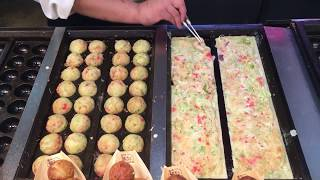 making takoyaki | unedited whole process タコヤキ