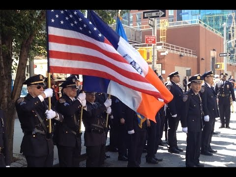 NYPD - 10th Precinct Auxiliary Police Officers - YouTube