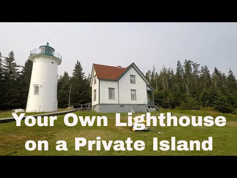 Rent a Lighthouse on a Private Island for a Unique Adventure