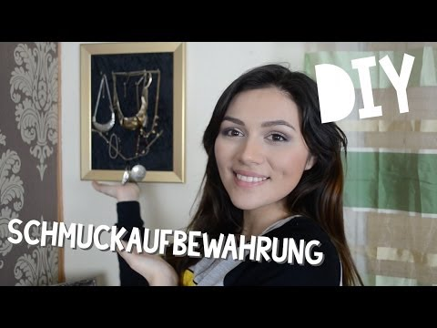 diy schmuckaufbewahrung youtube. Black Bedroom Furniture Sets. Home Design Ideas