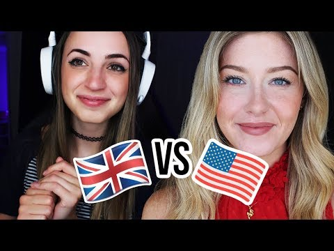 [ASMR??] USA vs UK Snack Swap | Creative Calm Collab