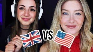 [ASMR??] USA vs UK Snack Swap | Creative Calm Collab