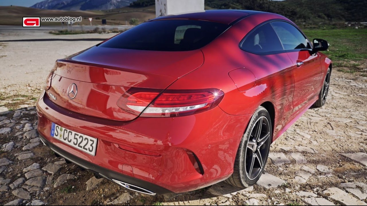 mercedes-benz c-class coupe review - youtube