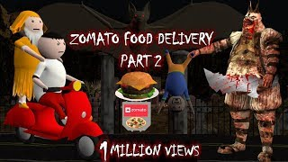 Zomato Food Delivery || Horror Stories || Part 2 (ANIMATED IN HINDI) Make Joke Horror