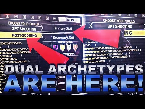DUAL ARCHETYPES & PURE ARCHETYPES! 100% BEST ARCHETYPE(VIDEO) IN NBA 2K18! POSITIVES & NEGATIVES!!!!