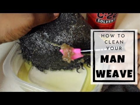 How to Clean Your Lace Man Weave *VERY DETAILED*