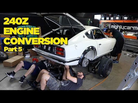 240Z - RB26 Engine Conversion [PART 5]