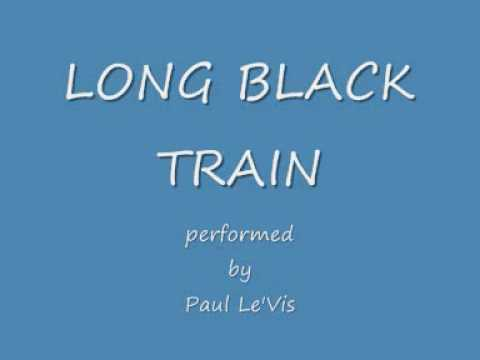 NO 1 JOHNNY CASH tribute to johnny cash long black train paul le'vis johnny cash tribute