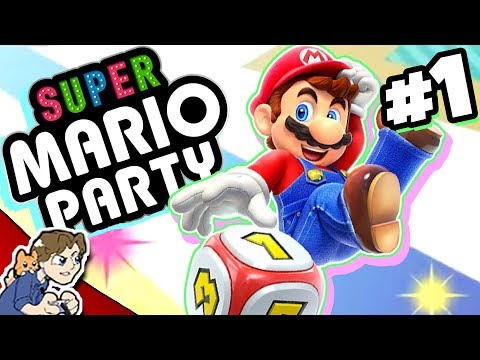 THIS IS FUN! (feat. PBG, SpaceHamster, and DYKG!) | Super Mario Party #1 | ProJared Plays