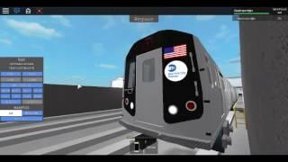 Roblox MTA Rare: R160 T Train