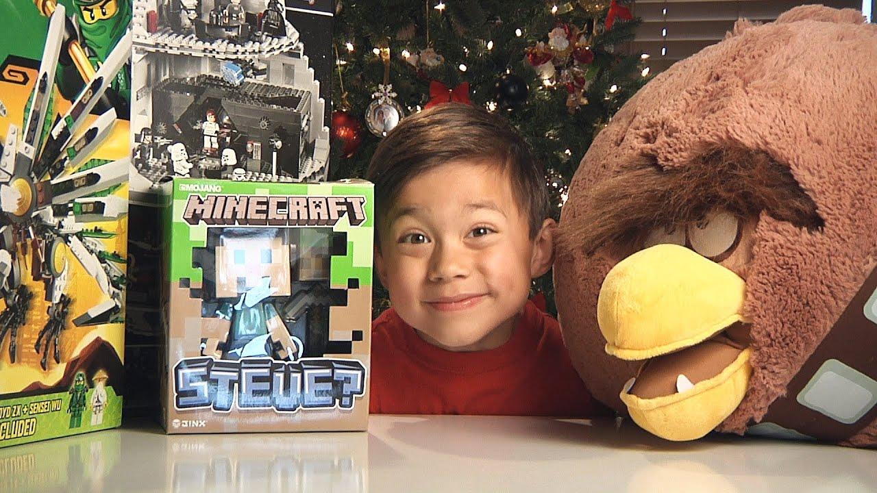 CHRISTMAS HAUL 2012 - Angry Birds, Lego Star Wars, Ninjago ...