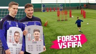 Free-Kick, Shooting & Passing Challenge! | FIFA vs Nottingham Forest 🔥